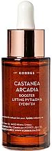 Парфюмерия и Козметика Бустер за лице против бръчки - Korres Castanea Arcadia Aufpolsternder Anti-Falten Booster