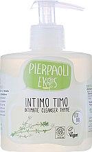 Парфюми, Парфюмерия, козметика Антибактериален сапун за интимна хигиена с екстракт от органична мащерка - Ekos Personal Care Thyme Intimate Cleanser (с дозатором)