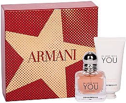 Парфюми, Парфюмерия, козметика Giorgio Armani Emporio Armani In Love With You - Комплект (парф. вода/30ml + крем за ръце/50)