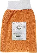 Парфюми, Парфюмерия, козметика Ексфолираща ръкавица за лице и тяло, оранжева - Natur Planet