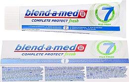 Парфюмерия и Козметика Паста за зъби - Blend-a-med Complete Protect fresh 7 Mild Fresh