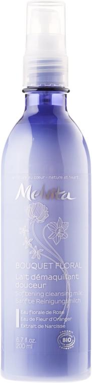 Почистващо мляко за грим - Melvita Bouquet Floral Softering Cleansing Milk — снимка N1