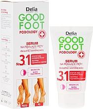 Парфюмерия и Козметика Серум за възстановяване и овлажняване на краката - Delia Good Foot