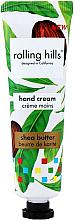 """Парфюмерия и Козметика Крем за ръце """"Масло от ший"""" - Rolling Hills Shea Butter Hand Cream"""