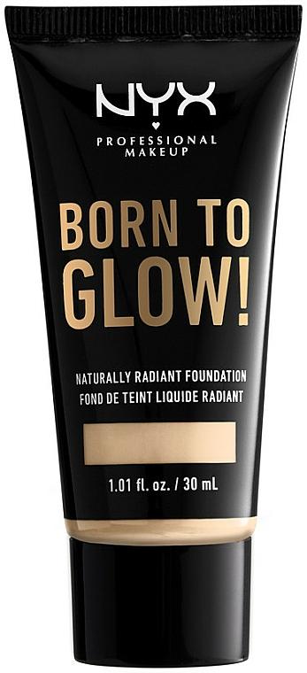 Течен фон дьо тен - NYX Professional Makeup Born To Glow