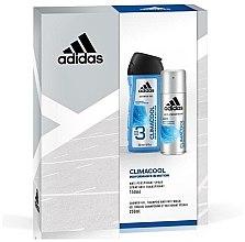 Парфюмерия и Козметика Комплект за мъже - Adidas Climacool Men (део/150ml + душ гел/250ml)