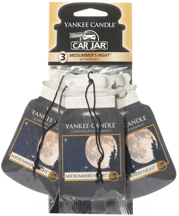 Комплект ароматизатори за кола - Yankee Candle Car Jar Midsummers Night — снимка N1