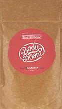 Парфюмерия и Козметика Скраб за тяло с кафе и ягода - BodyBoom Coffee Scrub Strawberry