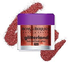 Парфюмерия и Козметика Глитер за лице и тяло - Boys'n Berries Glitterland Face and Body Glitter