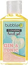 """Парфюмерия и Козметика Антибактериален гел за ръце """"Джин и Тоник"""" - Bubble T Cleansing Hand Gel Gin & Tonic"""