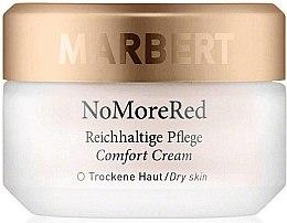 Парфюмерия и Козметика Крем за лице против зачервяване с шипка и невен - Marbert Anti-Redness Care NoMoreRed Comfort Cream