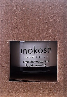 """Успокояващ крем за лице """"Смокиня"""" мини - Mokosh Cosmetics Figa Smoothing Facial Cream — снимка N2"""