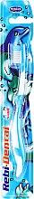 Парфюмерия и Козметика Детска четка за зъби Rebi-Dental M16, мека, синя - Mattes