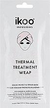 """Парфюмерия и Козметика Термална шапка-маска """"Защита на цвета и възстановяване"""" - Ikoo Infusions Thermal Treatment Wrap"""