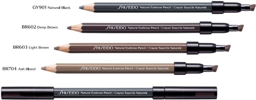 Молив за вежди - Shiseido Natural Eyebrow Pencil — снимка N2