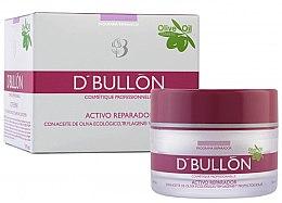 Парфюми, Парфюмерия, козметика Крем за лице против стареене с масло от маслина - D'Bullon Programa Reparador Crema Con Aceite De Oliva