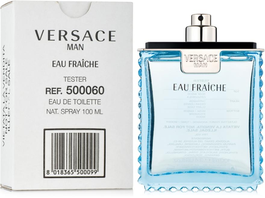 Versace Man Eau Fraiche - Тоалетна вода (тестер без капачка)  — снимка N2