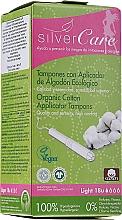 Парфюмерия и Козметика Дамски органични памучни тампони, 18 бр. - Masmi Silver Care Light