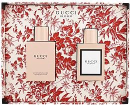Парфюми, Парфюмерия, козметика Gucci Bloom - Комплект (парф. вода/50ml + лосион за тяло/100ml)