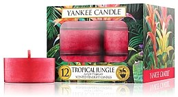 Парфюми, Парфюмерия, козметика Чайные свечи - Yankee Candle Tropical Jungle