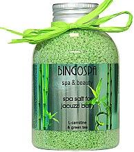 Парфюмерия и Козметика Соли за джакузи със зелен чай - BingoSpa