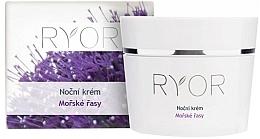 Парфюмерия и Козметика Нощен крем за лице с водорасли - Ryor Night Cream Marine Algae