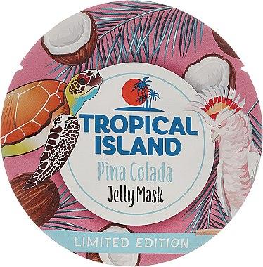 "Маска за лице ""Пина Колада"" - Marion Tropical Island Pina Colada Jelly Mask — снимка N1"