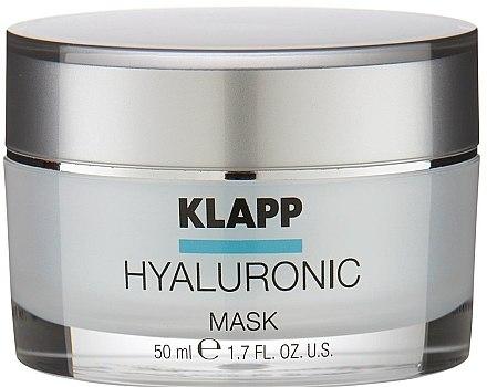 Хиалуронова маска за лице - Klapp Hyaluronic Mask — снимка N1
