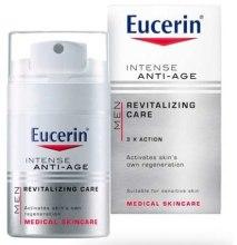 Парфюми, Парфюмерия, козметика Крем против бръчки за мъже - Eucerin Men Intense Anti-Age Cream Revitalizing Care