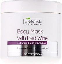 Парфюми, Парфюмерия, козметика Маска за тяло с червено вино - Bielenda Professional Body Mask With Red Wine