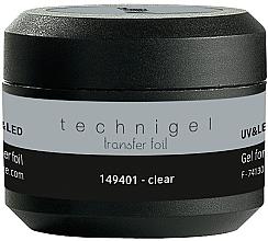 Парфюмерия и Козметика Гел за фолио - Peggy Sage Technigel Transfer Foil Gel