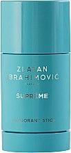 Парфюми, Парфюмерия, козметика Zlatan Ibrahimovic Supreme Pour Homme - Стик дезодорант