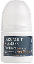 Парфюмерия и Козметика Bath House Bergamot & Amber - Дезодорант за мъже