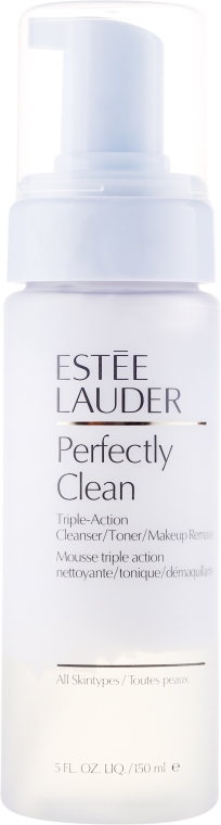 Универсален почистващ лосион за лице - Estee Lauder Perfectly Clean Triple-Action 3-in-1 — снимка N1