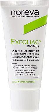 Крем за лице - Noreva Exfoliac Global 6 Severe Imperfections Cream — снимка N2