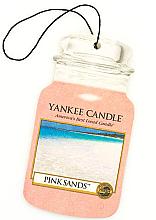 "Парфюмерия и Козметика Ароматизатор ""Розови пясъци"" - Yankee Candle Pink Sands Car Jar Ultimate"