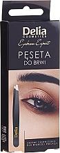 Парфюмерия и Козметика Пинсета за вежди - Delia Cosmetics Eyebrow Expert