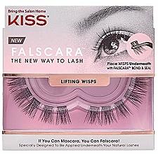 Парфюмерия и Козметика Изкуствени мигли на снопчета - Kiss Falscara Lengthening Wisps 03