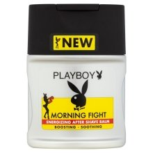 Парфюми, Парфюмерия, козметика Балсам след бръснене - Playboy Morning Fight After Shave Balm