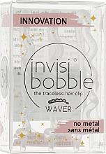 Парфюмерия и Козметика Шноли за коса, прозрачни с брокат - Invisibobble Waver Sparks Flying
