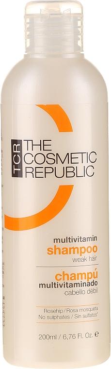 Подхранващ шампоан - The Cosmetic Republic Multi Vitamin Shampoo — снимка N1