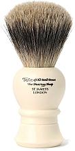 Парфюмерия и Козметика Четка за бръснене, 9.5 см, P1020 - Taylor of Old Bond Street Shaving Brush Pure Badger Size S