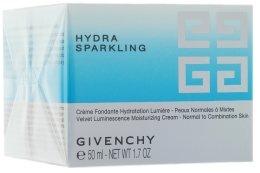Парфюми, Парфюмерия, козметика Овлажняващ крем за лице - Givenchy Hydra Sparkling Velvet Luminescence Moisturizing Cream