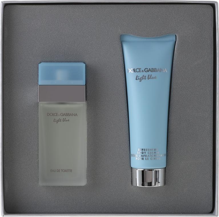 Dolce & Gabbana Light Blue - Комплект (edt 25 + b/c 50) — снимка N4