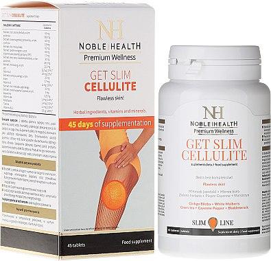 Таблетки против целулит - Noble Health Get Slim Cellulite