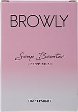 Парфюмерия и Козметика Моделиращ сапун за вежди - Browly Soap Booster