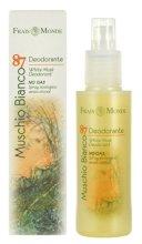 Парфюмерия и Козметика Frais Monde Muschio Bianco 87 White Musk Deodorant - Дезодорант-спрей за тяло