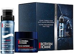 Парфюмерия и Козметика Комплект - Biotherm Homme Force Supreme (cr/50ml + shaving/foam/50ml)