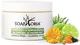 Парфюми, Парфюмерия, козметика Освежаваща, нормализираща и почистваща пяна за смесена и мазна кожа - Soaphoria Cleansing Foam
