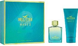 Парфюмерия и Козметика Hollister Wave 2 For Him - Комплект (edt/100ml + sh/gel/200ml)